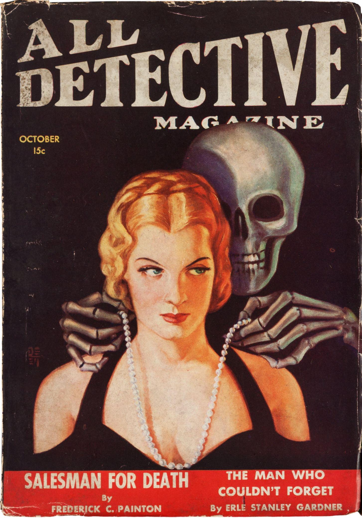 All-Detective Magazine October 1934